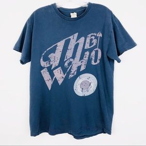 The Who Short Sleeve Crew Neck T-Shirt Top Sz Med